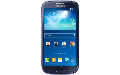 Smartphone Samsung Galaxy S III Neo (i9301), modrý