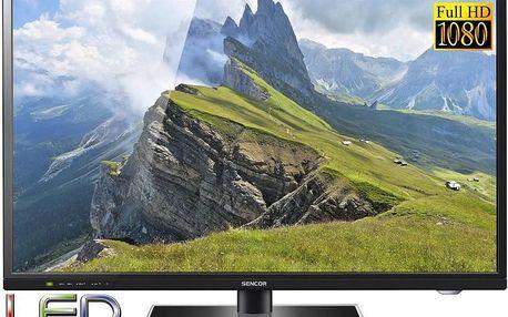 Televize SENCOR AKCE SLE 48F10M4 122cm FULL HD LED TV