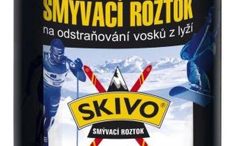 Smývací roztok Skivo na odstraňování vosků z lyží