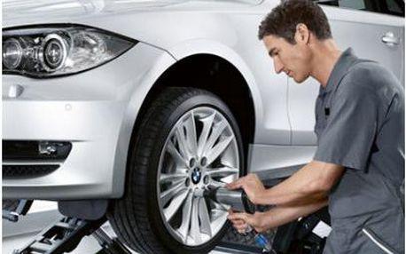 Kompletní přezutí a vyvážení pneumatik vašeho osobního vozidla v Těrlicku!!!