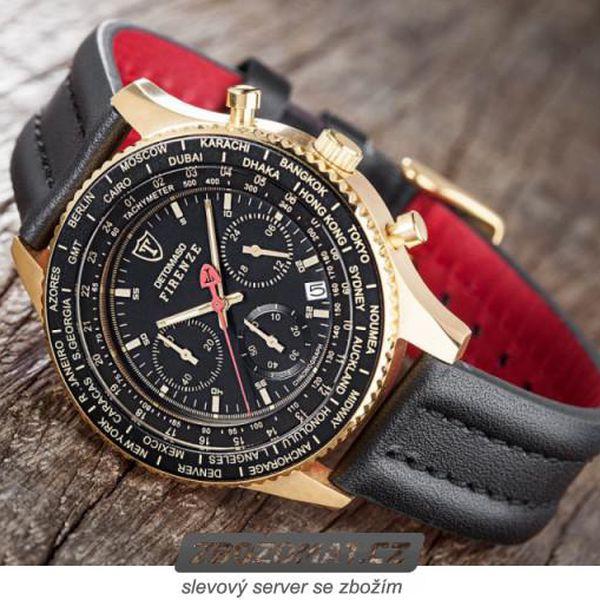 Pánské hodinky Detomaso Firenze - luxus v každém detailu!