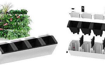 Samozavlažovací truhlík pro vertikální zahradu