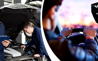 Údržba klimatizace a vizuální kontrola vozu