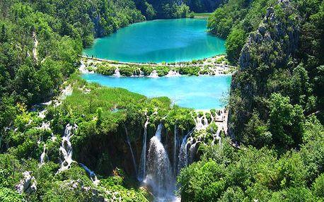 Křišťálově průzračná Plitvická jezera, květnový poznávací zájezd