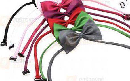 Barevný textilní motýlek pro kočku či psa a poštovné ZDARMA! - 9999902617