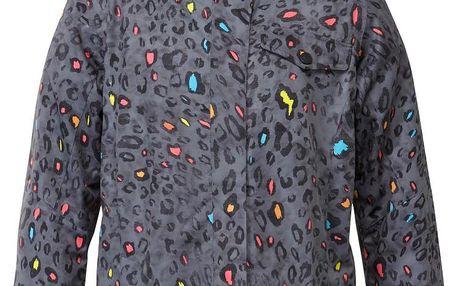 Dámská bunda na snowboard Jetty JK v barevném stylu