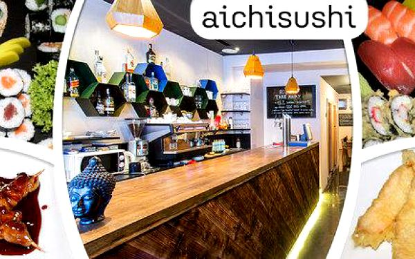 Jarní sushi menu pro 2 osoby v Sushi Aichi