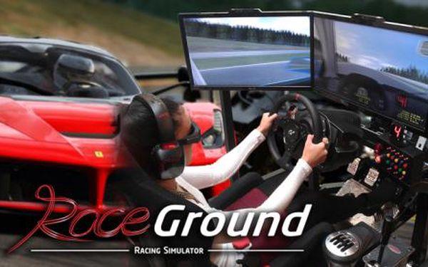 DVĚ ZÁVODNÍ JÍZDY na 3D simulátoru! Usedněte za volant nejrychlejšího sporťáku a dupněte na plyn, závod začíná! Své síly můžete změřit s partou kamarádů nebo s nejlepšími závodními jezdci! 4 špičkové simulátory na vás čekají v Race Ground u Dejvické!!