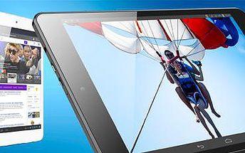 """8"""" tablet: Android Jelly Bean. Až 7 hodin přehrávání videa, nebo 15 hodin hudby!"""