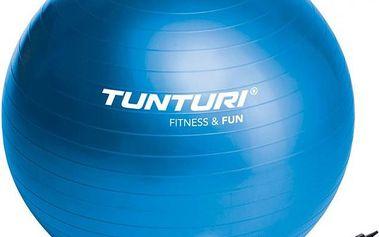 Tunturi Gym Ball 65cm modrý je vhodný pro šetrné procvičení kloubů celého těla