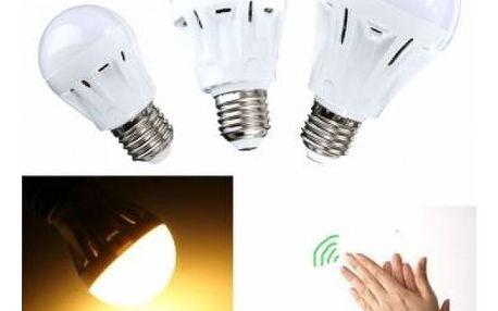 3 W LED žárovka se zvukovým senzorem