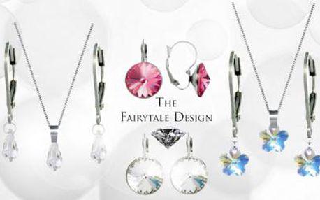 JARNÍ SETY ŠPERKŮ SWAROVSKI ELEMENTS! Na výběr ze 3 designových variant! Ozdobte se originálním šperkem!