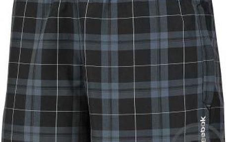 Pánské šortky BW CHECK BOXER černá