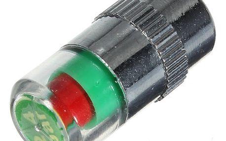 Čepička na ventilek měřící tlak