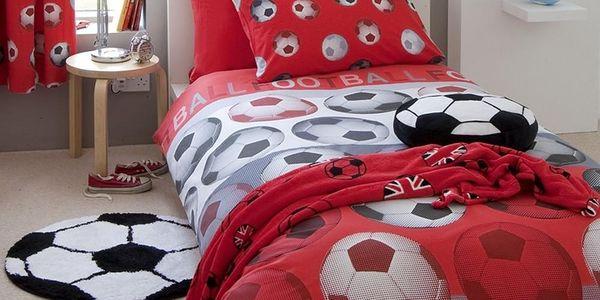 Povlečení Football Red, 135x200 cm