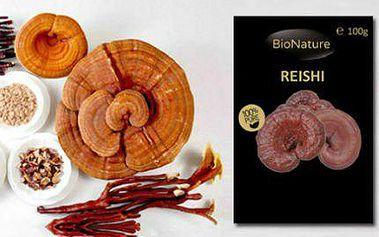 Čínská houba dlouhověkosti REISHI - 100 gramů v prášku