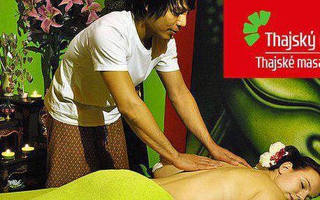 Masáže v salonech Thajský ráj dle výběru! Klasická thajská, relaxační olejová, bylinná, masáž nohou i zlatá masáž pro 2 osoby. Každá masáž navíc doplněna relaxačním programem s rybičkami Garra Rufa.