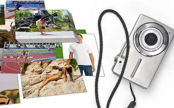 Sada 100 fotografií na fotopapíře ve 3 různých rozměrech
