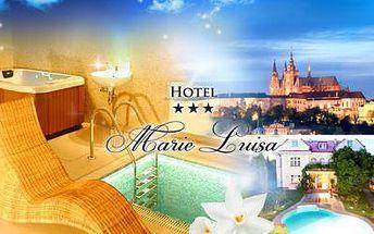 Pobyt na 1 či 2 noci pro 2 v rodinné vilce Hotel Marie-Luisa*** v srdci Prahy! V ceně snídaně či polopenze!