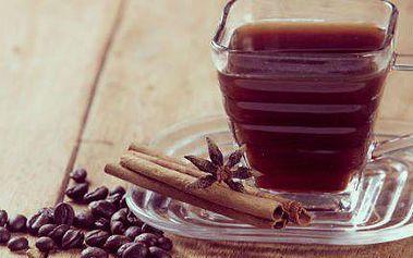 Černá káva s čínskou houbou REISHI