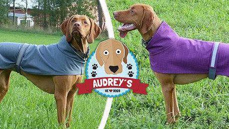 Výprodej softshellových pláštěnek Audrey's pro aktivní pejsky