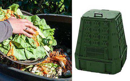 Zahradní kompostér EvoGreen pro ekologické zpracování odpadu