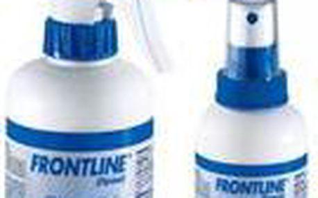 Frontline sprej 100ml je určený k léčbě a prevenci při napadení blechami a klíšťaty u psů