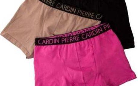 Značkové pánske boxerky PIERRE CARDIN 3 kusy v balení s poštovným