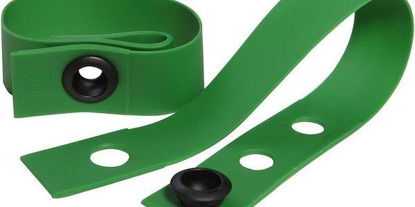 Chytrá gumová páska, zelená