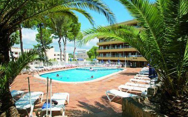Španělsko, oblast Mallorca, letecky, bez stravy, ubytování v 2* hotelu na 8 dní