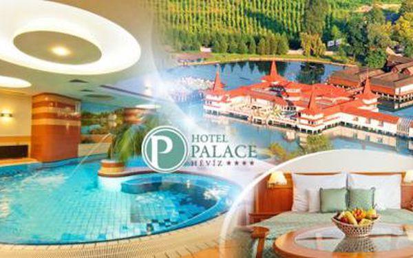 MAĎARSKO - Héviz! WELLNESS pobyt u termálního jezera na 5 dní pro DVA s bohatou POLOPENZÍ ve 4* hotelu!