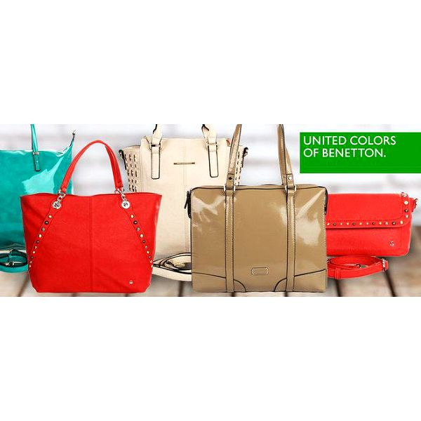 Něco pro dámy: kabelky Benetton