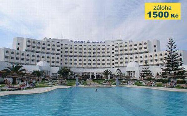 Tunisko, oblast Sousse, polopenze, letecky, ubytování v 4* hotelu na 9 dní