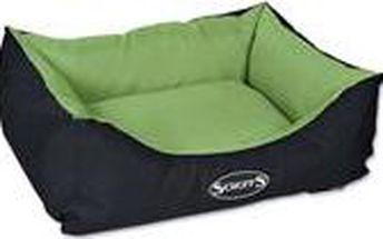 Voděodolný pelíšek Scruffs Expedition Box Bed M 60x50cm limetkový