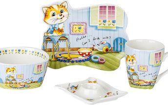 Sada porcelánového nádobí pro děti