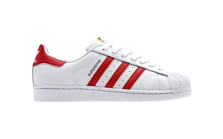 Pánská volnočasová obuv adidas SUPERSTAR FOUNDATION bílá EUR 43 1/3 (9 UK)