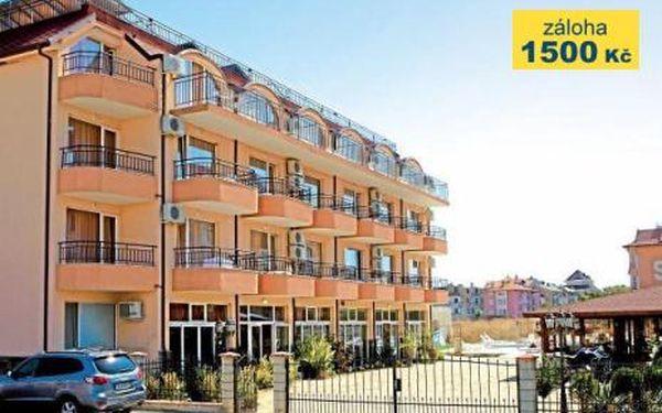 Bulharsko, oblast Obzor, doprava letecky, snídaně, ubytování v 3* hotelu na 8 dní