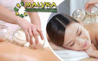 Klasická relaxační masáž + baňkování - 60 min.