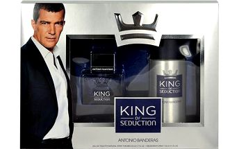 Antonio Banderas King of Seduction dárková sada - Edt 50ml + 150ml deodorant