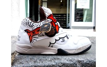 Tenisky Reebok Classic Court Victory Pump × Keith Haring White bílá US11