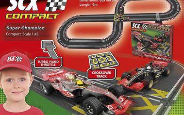 Detailně zpracovaná autodráha SCX Super Champion