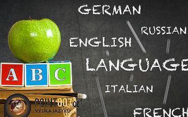 Italský, španělský nebo ruský jazyk za jeden týden!