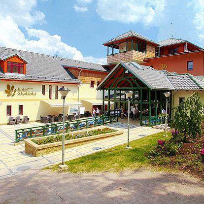 3denní wellness pobyt v hotelu Studánka**** v Orlických horách pro 2 osoby