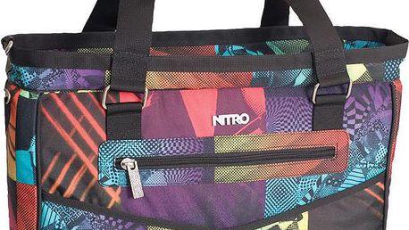 Carry-All Bag mixer prostorná dámská kabelka s vnitřní polstrovanou komorou na 15 notebook