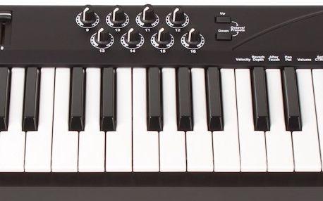 USB / MIDI klaviatura Miditech i2 Control-61 BK