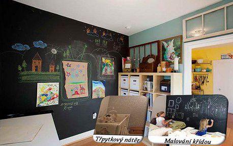 Designové interiérové barvy na stěnu