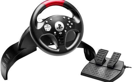 Sada volantu a pedálů T60 licencovaná pro PlayStation 3