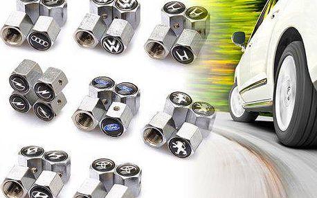 Čepičky ventilků z nerez oceli a ochranou proti krádeži! Na detailech záleží, zkrášlete kola vašeho vozu čepičkou ventilku, kterou vám nikdo neukradne! V nabídce mnoho log, určitě si vyberete i vy!