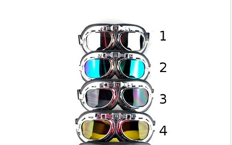 Retro moto brýle ve steampunk stylu!