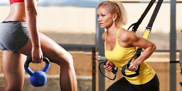 Systém TRX nebo činka Kettlebell - soukromé nebo veřejné hodiny s trenérkou, včetně diagnostiky vašeho těla